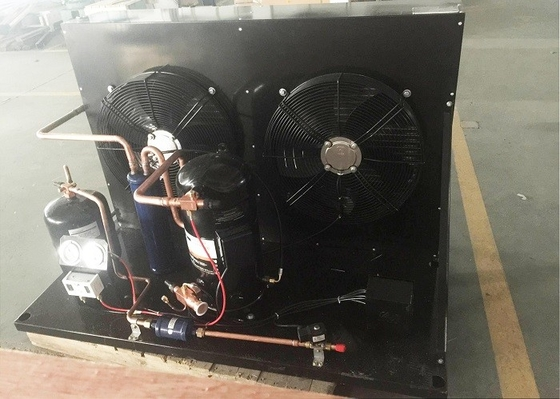 China Safely Running Copeland Condensing Unit , 9HP Freezer Refrigeration Unit For Cold Room supplier