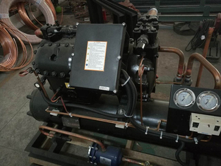 China Copeland Compressor 10 HP Hermetic Condensing Unit Water Cooled Easy Operation supplier