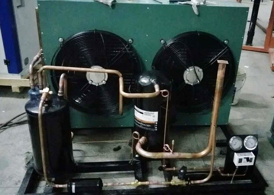 China 8 HP Hermetic Condensing Unit For Medium And Low Temperature Cold Storage supplier