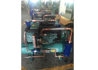 China Water Cooled Refrigeration Unit 5 HP , Walk In Cooler Condensing Unit supplier