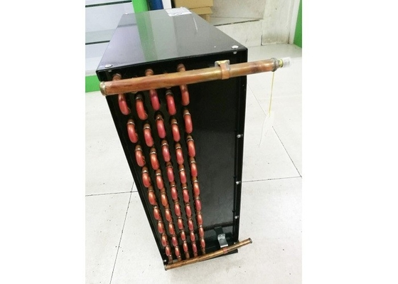 China FNU Type Copper Pipe Air Cooler Condenser For Evaporative Cooler / Chemical Industry supplier