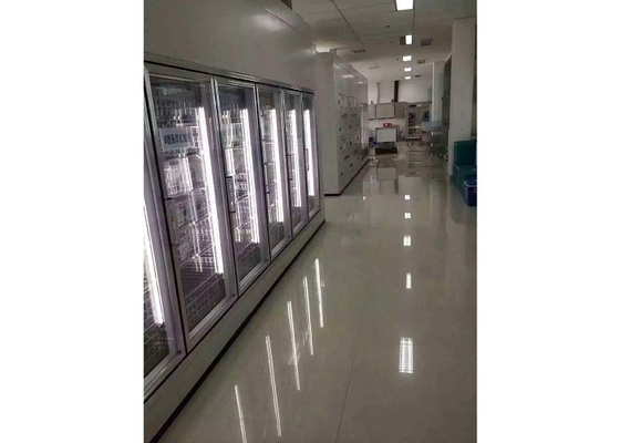 China Supermarket Walk In Chiller Rooms , Cold And Freezer Rooms Easy Maintenance supplier