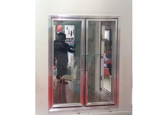 China Linear Type Walking Cold Room For Supermarkets / Chain Stores / Restaurants supplier