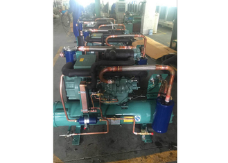 China 15HP Copeland Water Cooled Condensing Units , Compressor Refrigeration Unit For Supermarket supplier