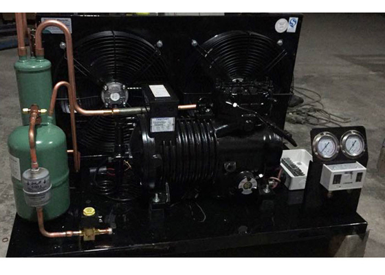 China Professional Refrigeration Condensing Unit Length 1900 MM Designed With Fin Condenser supplier