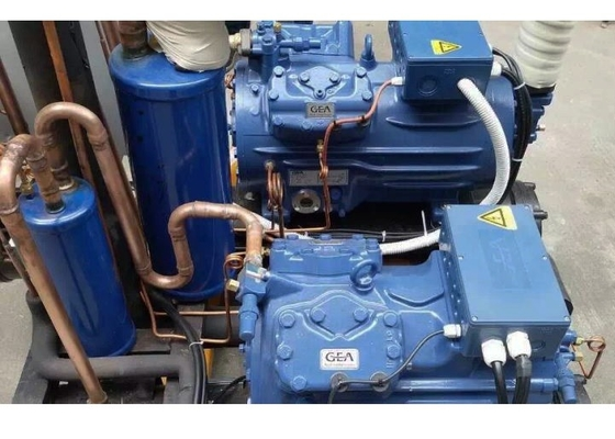 China Reliable Copeland Condensing Unit , 8HP Water Cooled Refrigeration Unit For Factory supplier