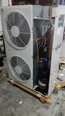 China High Efficiency 5 HP Condensing Unit , Copeland Compressor Units For Chemical Cooler supplier