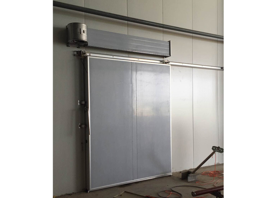 China Easy Install Commercial Freezer Doors , 100mm Thickness Insulated Doors For Cold Rooms supplier