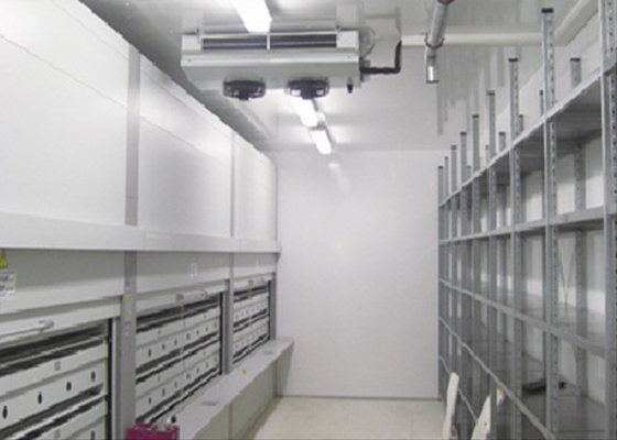 China Industrial Modular Cold Storage Room For Meat / Fish / Medicine , 50 - 200mm Thickness Panel supplier
