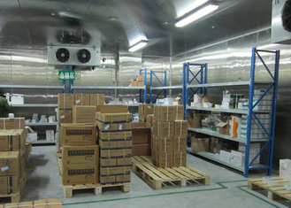 China Customized Sized Cold Room Food Storage 220v 380v For Onion / Tomato supplier