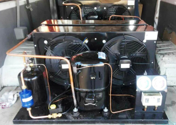 China Electric Control Hermetic Condensing Unit With Copeland ZB Scroll Compressor supplier