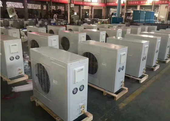 China 2HP Copeland Scroll Indoor Air Cooled Condensing Unit / Refrigeration Equipment supplier