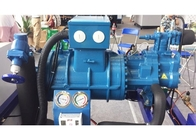 64HP Open Type Semi Hermetic Condensing Unit With Piston Compressor Air Cooled