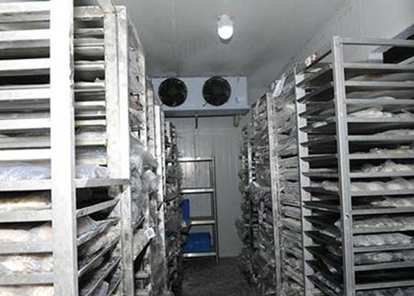 Vegetable / Fruit Cold Storage Room Sandwich Pu Panel Full