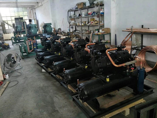 China Durable Water Cooled Condensing Unit With Copeland Compressor For Chiller factory