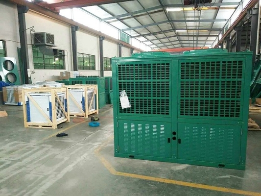 China Walk In Cooler Condensing Unit , 10HP Air Cooled -10 ℃ Copeland Compressor Condenser Unit factory