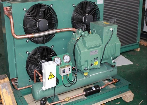 Cold Storage Refrigeration Air Cooled Condensing Unit With 5HP Bitzer Compressor