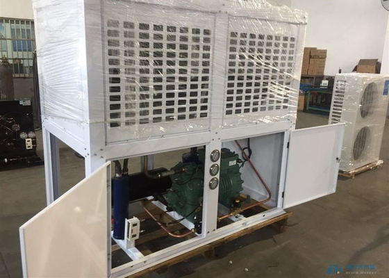 8HP Box Type Refrigeration Condensing Unit With Air Cooler For Cold Storage Room